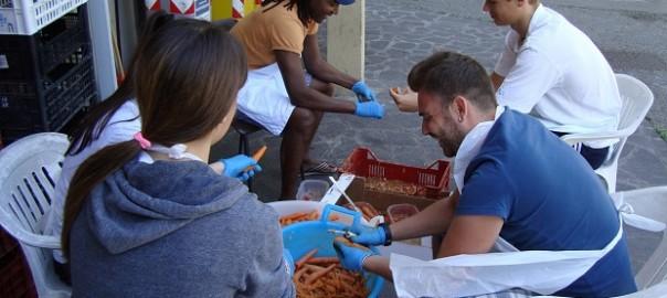 volontari cucina